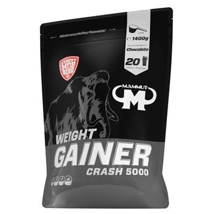 WEIGHT GAINER CRASH 5000 - ŠOKOLĀDE - 1400 G