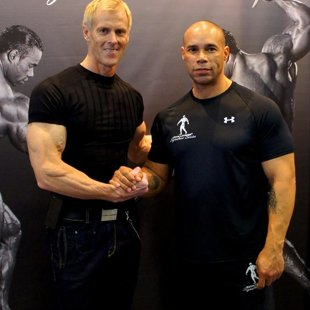 With BB Legend - Kevin Levrone