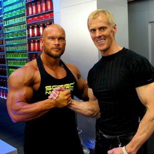 Maris Sveiduks and Pro Bodybuilder Ben Pakulski