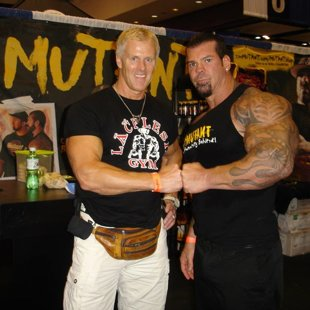 With Mutant Mass MONSTER & champion - RICH PIANA