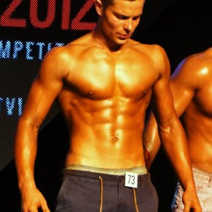 Dāvis - Man Fitness Model
