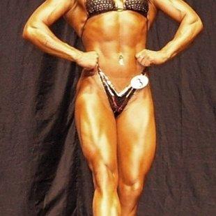 Kristīne Alksne  Latvijas absolūtā čempione. Fitness Figura klasē.