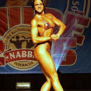Mairita Amanda Cibiņa - Latvijas junioru čempione Figur klasē.