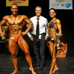 NABBA WFF LKFF Baltic Open championship in BB & FItness Overall winners from Latvia